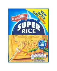 Batchelors Super Rice Golden VEGETABLE 100g Packet