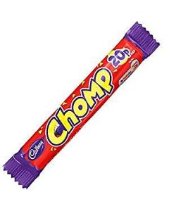 Cadbury Chomp 23.5g PM 20p Out of date 13 Mar 2015