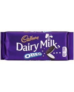 Cadbury Dairy Milk Oreo 120g Block chocolate