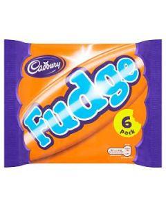 Cadbury Fudge 6 MultiPack 147g Out of Date 13 Feb 2015