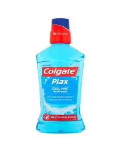 Colgate Plax Cool Mint Blue Mouthwash 500ml Single Bottle