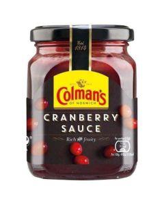 Colmans Cranberry Sauce 165g Single Glass Jar
