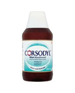 Corsodyl MINT Medicated Mouthwash 300ml