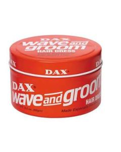 DAX Wave and Groom Hair Dress 99g RED wax