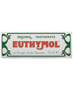 Euthymol Original Toothpaste 75ml Tube