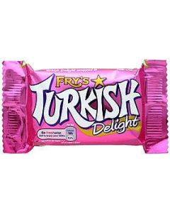Fry's TURKISH DELIGHT Bar 51g (OOD) 23/06/2016