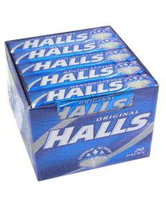Halls Menthol Sugar Free Original 32g x 20 Case