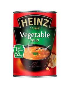 Heinz Classic Vegetable Soup 400g Tin