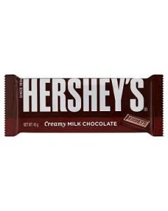 Hersheys Creamy Milk Chocolate block Bar 45g Out of Date 30 Apr 2015