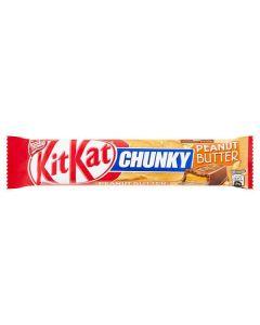 KITKAT Chunky Peanut Butter Chocolate Bar 42g CLR