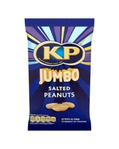 KP Jumbo Salted Peanuts 200g Packet
