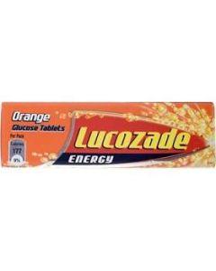 Lucozade Energy ORANGE Glucose Tablets 47g