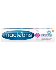 Macleans Whitening Fluoride Toothpaste 100ml Single Tube
