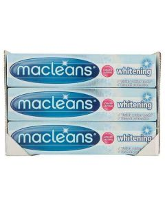 Macleans Whitening Fluoride Toothpaste 100ml x 12 Wholesale Bulk Pack