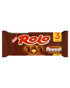 Nestle Rolo 3 Multi Pack 156g Tubes