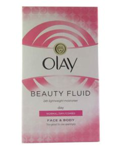 Olay Beauty Fluid Non-Greasy Moisturising for Normal/Dry/Combo Skin 200ml