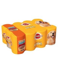 Pedigree Tinned Dog Food Mixed Selection in Jelly 12 x 385g