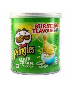 Pringles Sour Cream & Onion Tub 40g CLR