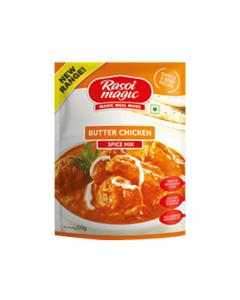 Rasoi Magic Spice Mix For Butter Chicken 50g Packet