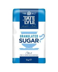 Tate & Lyle Granulated Cane Sugar 1kg New packaging