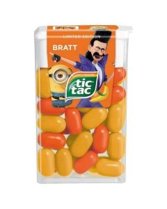 Tic Tac Banana and Tangerine 18g x 24 Wholesale Case
