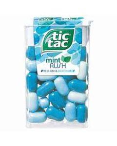 Tic Tac Mint Rush 18g x 24 Wholesale Case