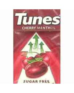 Tunes Sugar Free CHERRY Flavour Menthol 37g Box