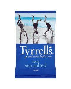 Tyrrells Lightly Sea Salted Crisps 150g Clearance