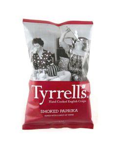 Tyrrells Smoked Paprika Crisps 150g CLR