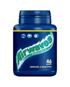 Wrigley's Airwaves Sugarfree Gum Menthol & Eucalyptus 46 Pellets Bottle