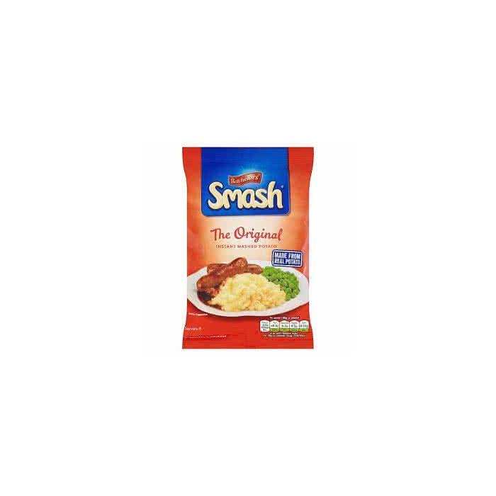 Batchelors Smash Original Instant Mash Potato 176g Packet