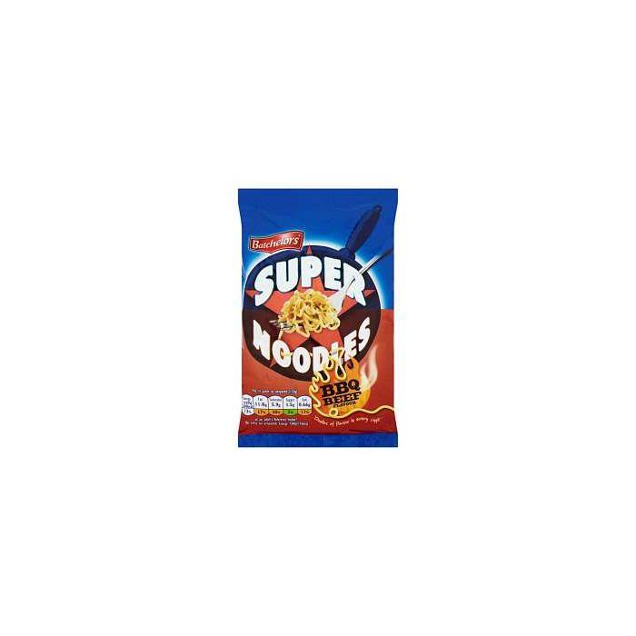 Batchelors Super Noodles BBQ BEEF Flavour 100g Packet