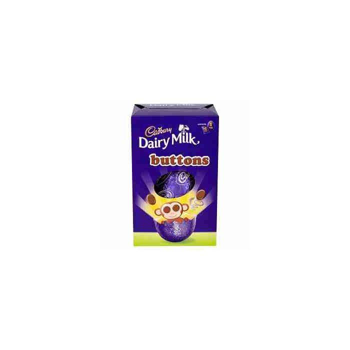 Cadbury Buttons Small Shell Easter Egg 85g