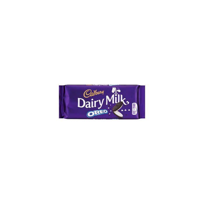Cadbury Dairy Milk Oreo 120g Block chocolate