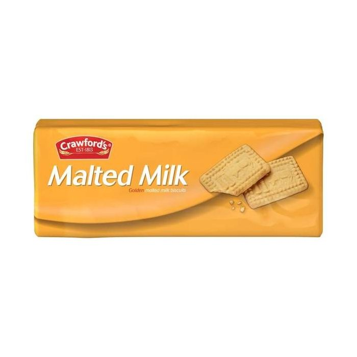 Crawford's Malted Milk Biscuits 200g Single Pack