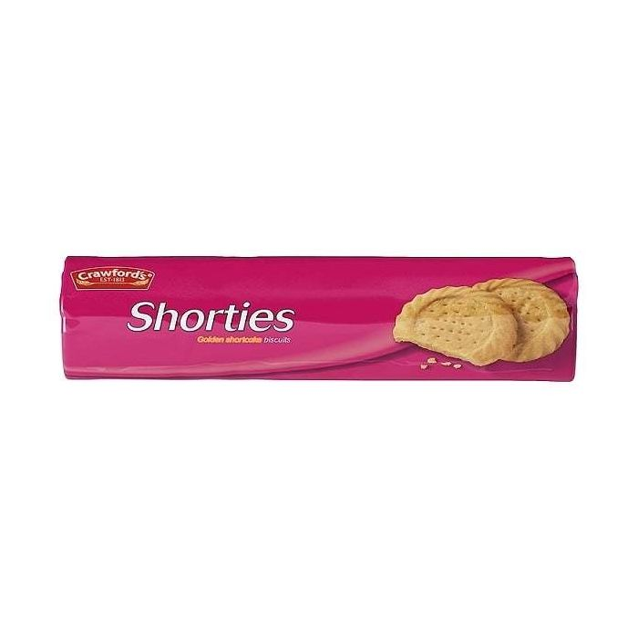 Crawford's Shorties Golden Shortcake Biscuits 300g Single Pack