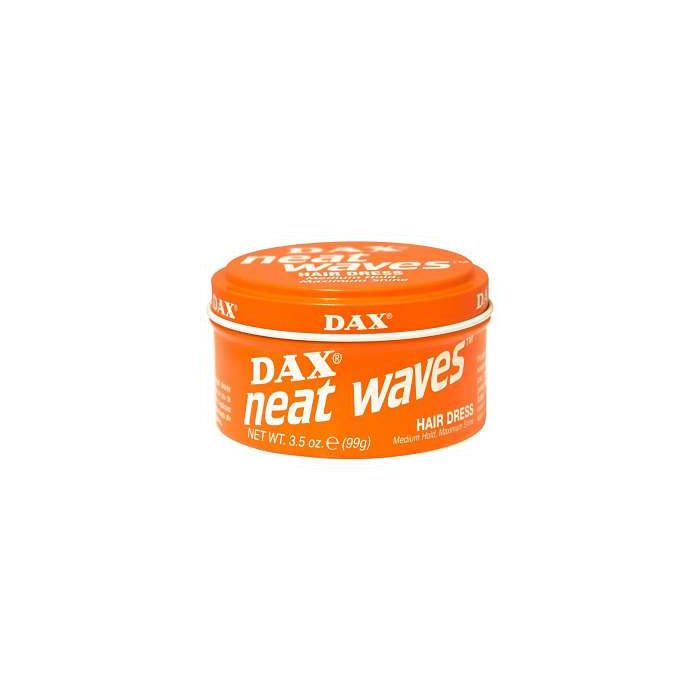 DAX Neat Waves Hair Dress 99g ORANGE Tin