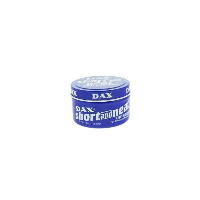 DAX Short and Neat Light Hair Dress 99g BLUE Tin