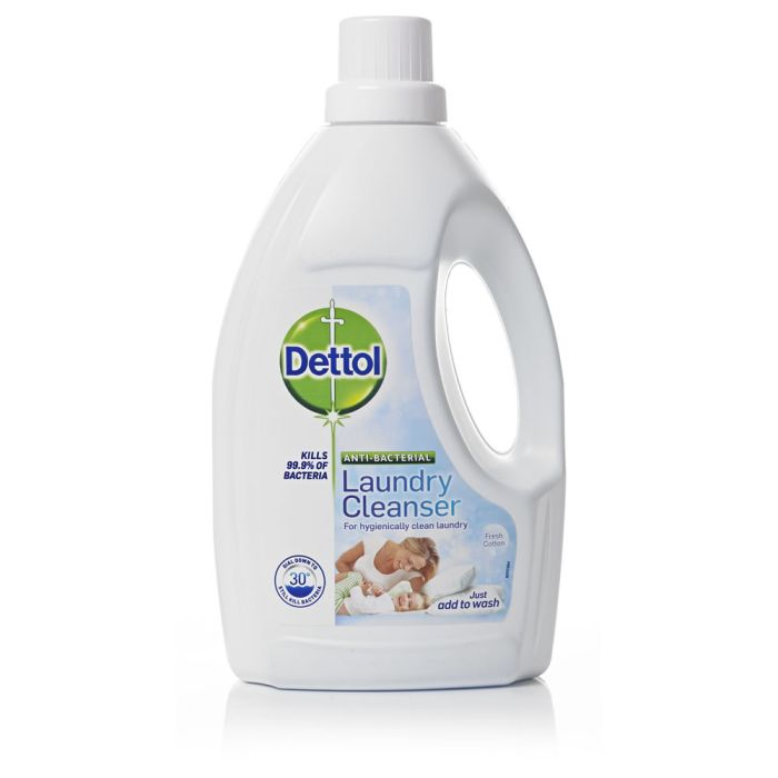 Dettol Anti-Bacterial Laundry Cleanser Fresh Cotton 1.5L