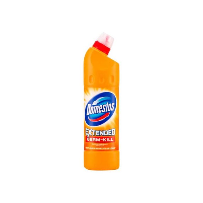 Domestos Extended Germ-Kill SUNFRESH Thick Bleach 750ml Bottle with CTAC