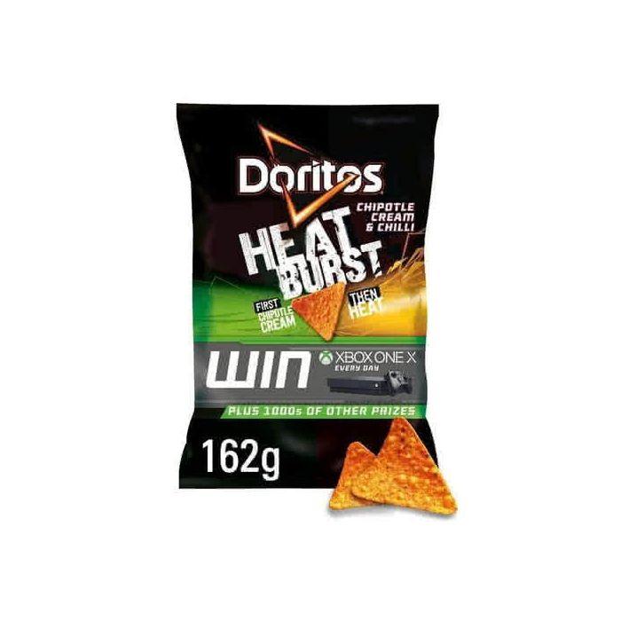Doritos Heatburst Chipotle Cream and chilli Tortilla Chips 162g