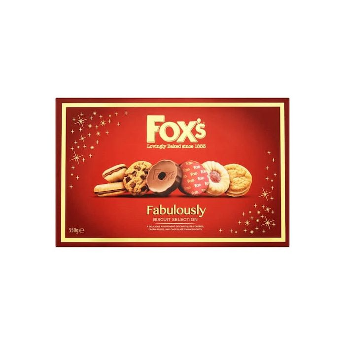 Fox's Fabulously Biscuit Selection 550g Box