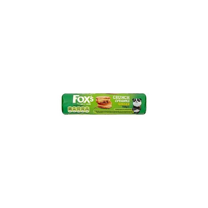 Fox's Ginger Crunch Creams 168g