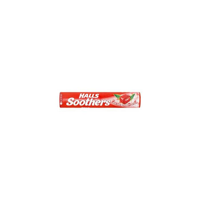 Halls Soothers Strawberry 45g x 20 Wholesale Case