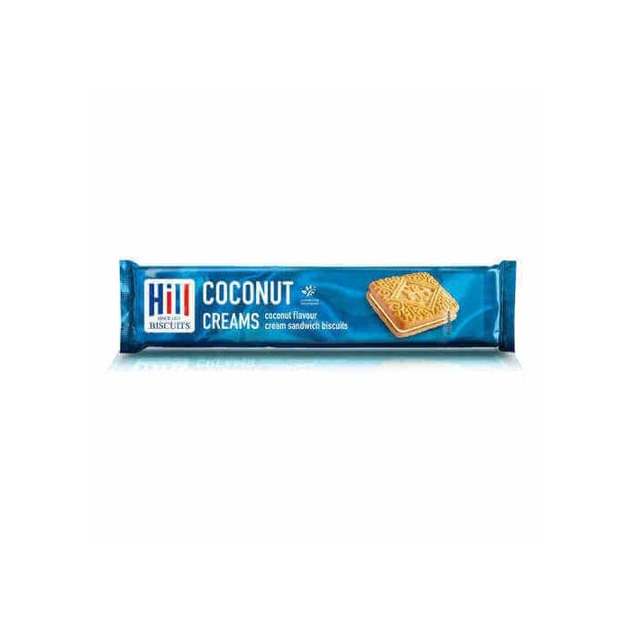 Hill Coconut Creams Biscuits 150g x 12 Wholesale Case