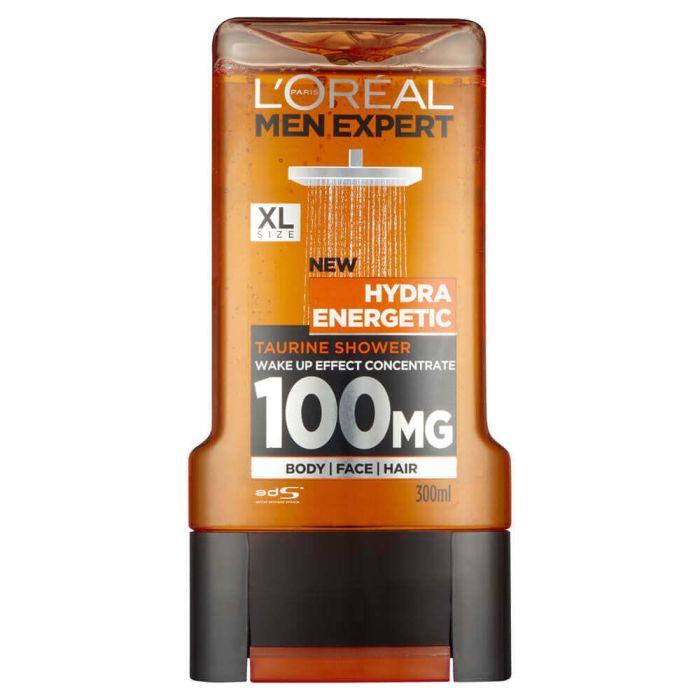 L'Oréal Paris Men Expert Shower Gel Hydra Energetic 300ml XL