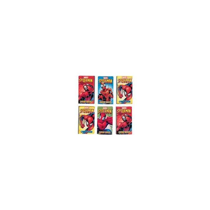 Marvel Ultimate Spider Man Candy Sticks with stickers box