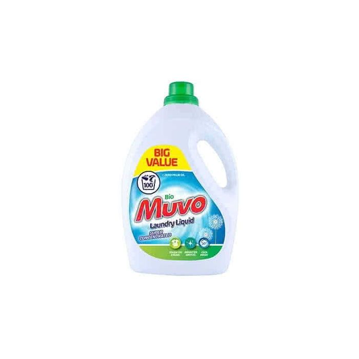 Muvo Bio Laundry Liquid Fresh Cotton 3 Litres