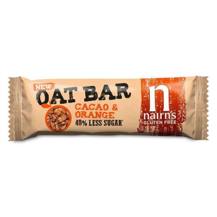 Nairns Cacao And Orange Oat Bar 40g CLR
