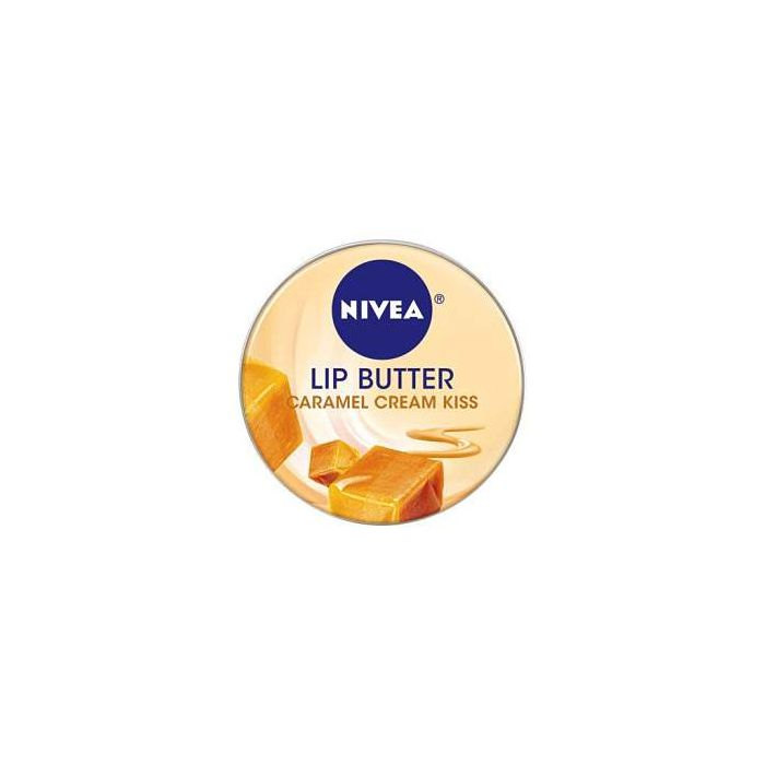 Nivea Lip Butter Tin CARAMEL CREAM 19ml